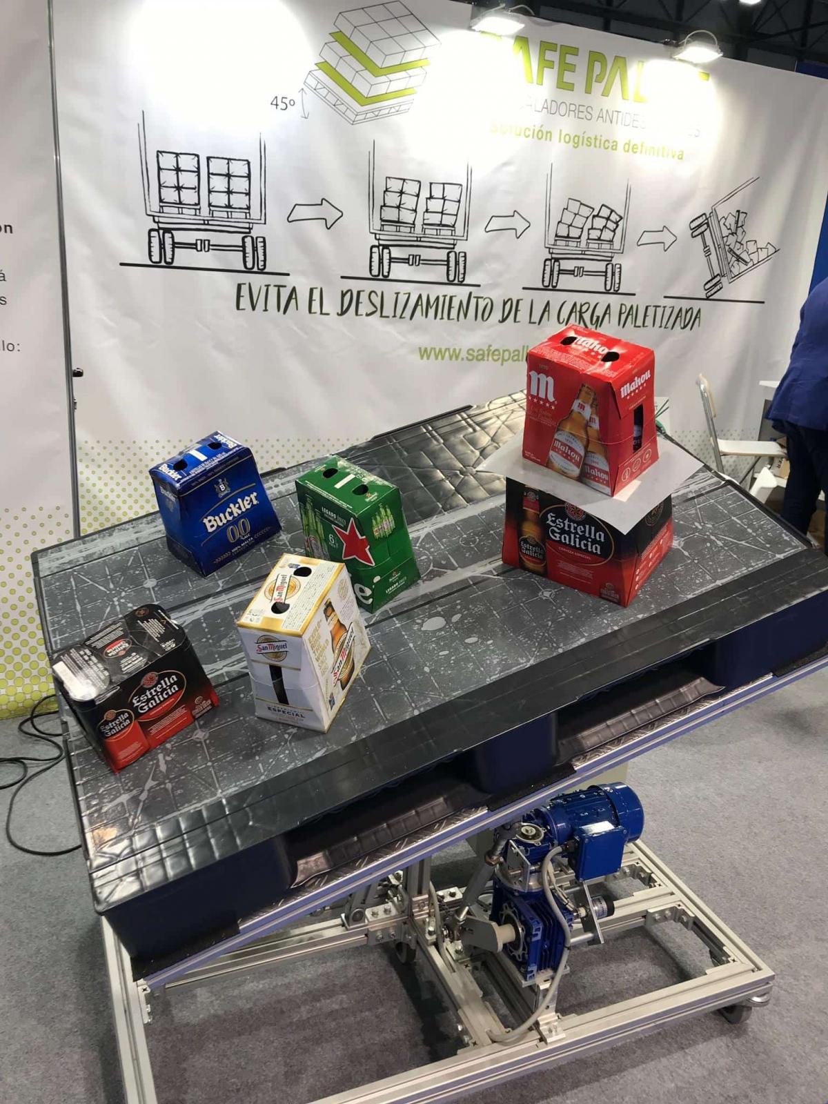 SAFE PALLET presenta los intercaladores de plástico en Empack2019